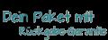 Dein Paket mit Rückgabe- Garantie: Logobild