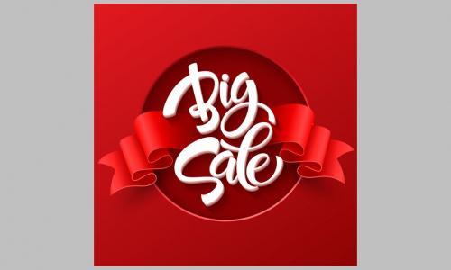 Big-Sale Themen-Aushang