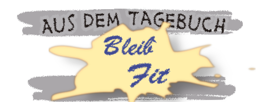 Tagebuchbeitrag Logo: bleib-fit